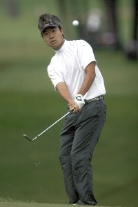 Kevin Na in action during the third round of the 2007 Crowne Plaza Invitational at Colonial at the Colonial Country Club in Fort Worth, Texas, on May 26, 2007. PGA TOUR - 2007 Crowne Plaza Invitational at Colonial - Third RoundPhoto by Steve Grayson/WireImage.com