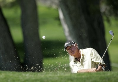 John Jacobs in action during the second round of the PGA Champion's TOUR 2007 AT&T Champions Classic at the Valencia Country Club in Santa Clarita, California on March 17, 2007. Champions Tour - 2007 AT&T Champions Classic - Second RoundPhoto by Steve Grayson/WireImage.com