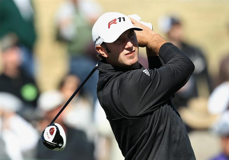 SCOTTSDALE, AZ - FEBRUARY 04:  Geoff Ogilvy of Australia hits a tee shot on the 14th hole during the first round of the Waste Management Phoenix Open at TPC Scottsdale on February 4, 2011 in Scottsdale, Arizona.  (Photo by Christian Petersen/Getty Images)