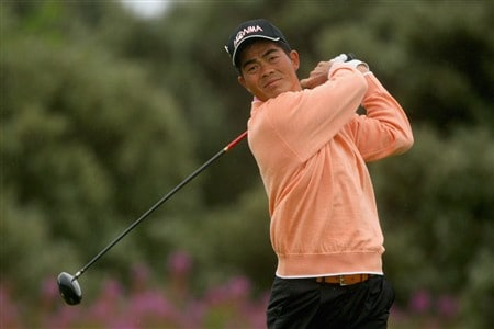 SOUTHPORT, UNITED KINGDOM - JULY 18:  Wen-Chong Liang of China tees off on the 2nd during the second round of the 137th Open Championship on July 18, 2008 at Royal Birkdale Golf Club, Southport, England.  (Photo by Andrew Redington/Getty Images)