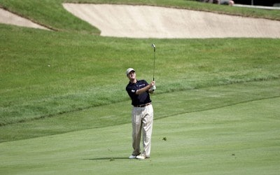 Joe Ogilvie during the third round of the Cialis Western Open on the No. 4 Dubsdread course at Cog Hill Golf and Country Club in Lemont, Illinois on July 8, 2006.Photo by Michael Cohen/WireImage.com