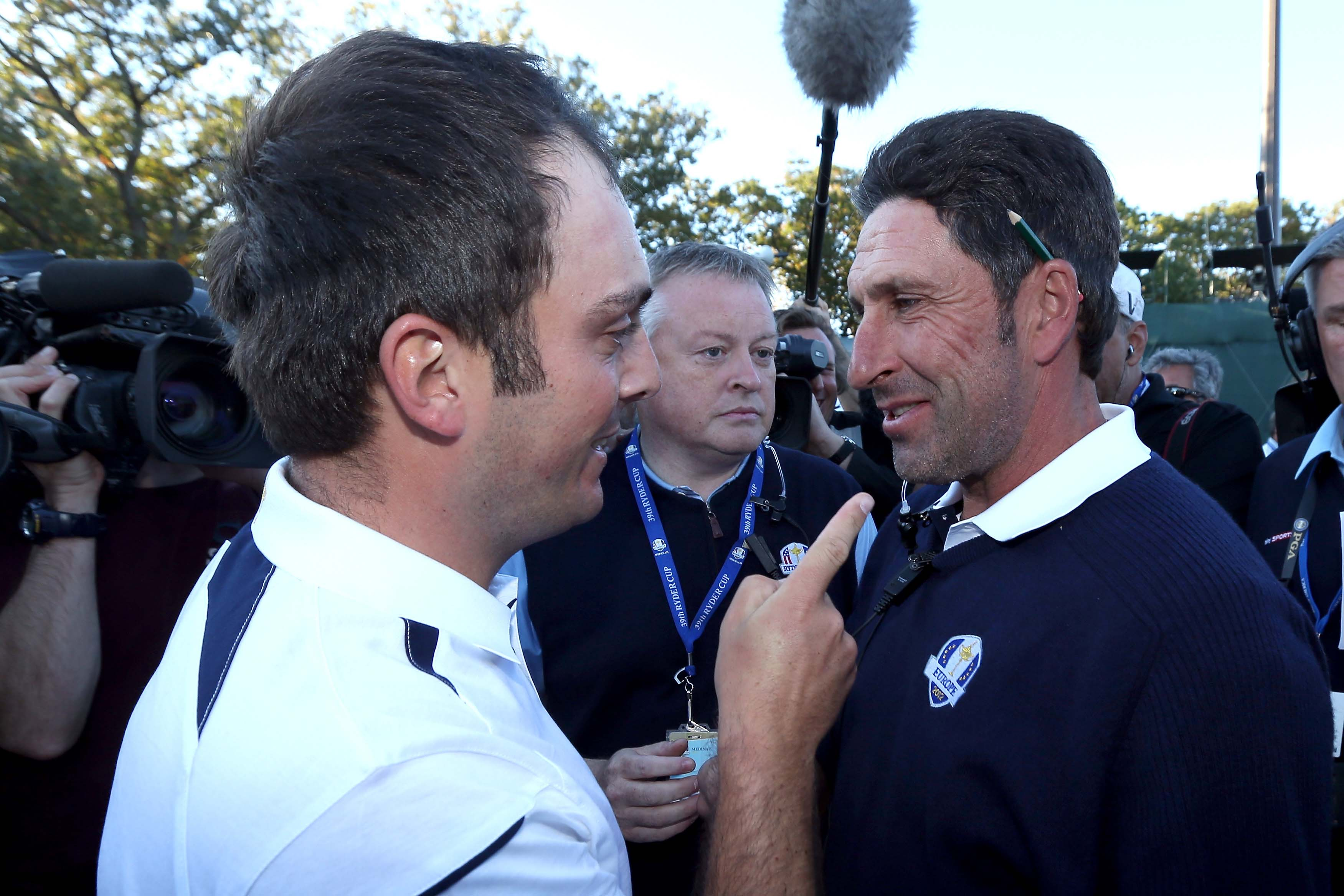 Francesco Molinari and Jose Maria Olazabal