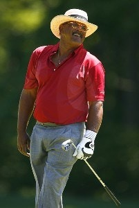 Jim Thorpe during the final round of the Bank of America Championship at the Nashawtuc Country Club in Concord, Massachusetts on June 24, 2007. Champions Tour - 2007 Bank of America Championship - FinalPhoto by Jim Rogash/WireImage.com