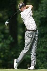 Brad Faxon during the second round of the AT&T National at Congressional Country Club on July 6, 2007 in Bethesda, Maryland. PGA TOUR - 2007 AT&T National - Second RoundPhoto by Hunter Martin/WireImage.com