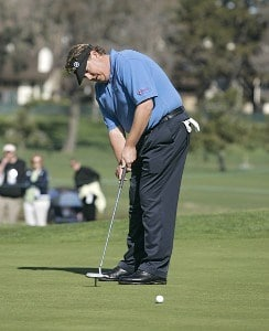 Tim Herron during the first round of the 2006 Accenture Match Play Championship at the La Costa Resort & Spa in Carlsbad, California on February 22, 2006.Photo by Stan Badz/PGA TOUR/WireImage.com