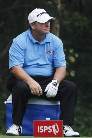 SHENZHEN, CHINA - MARCH 12:  Ian Woosnam of Wales in action during the second round of the ISPS Handa Senior World Championship presented by Mission Hills China and played on the World Cup Course, Mission Hills on March 12, 2011 in Shenzhen, Guangdong.  (Photo by Phil Inglis/Getty Images)