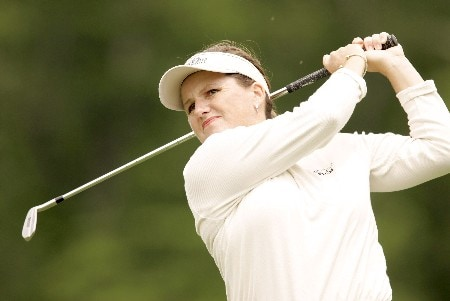 Lorie Kane in action during the first round of the 2005 Michelob Ultra Open at Kingsmill. May 4, 2005Photo by Pete Fontaine/WireImage.com