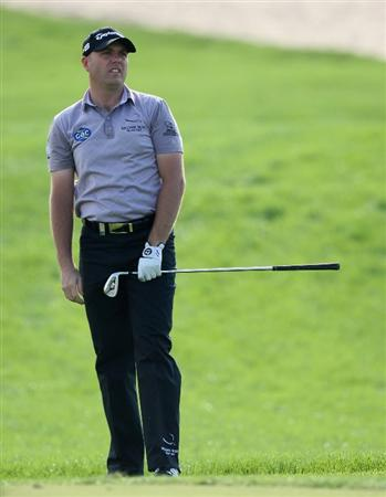 ABU DHABI, UNITED ARAB EMIRATES - JANUARY 17:  Graeme Storme of England during the third round of the Abu Dhabi Golf Championship at the Abu Dhabi Golf Club on January 17, 2009 in Abu Dhabi, United Arab Emirates.  (Photo by Ross Kinnaird/Getty Images)