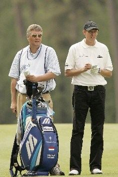 Maarten LaFeber during the second round of the 2005 KLM Open at Hilversumsche Golf Club in the Netherlands on June 10, 2005.Photo by Pete Fontaine/WireImage.com