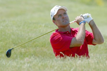 Thomas Levet of France during practice for the 2005 Open de France at Le Golf National in St. Quentin, France on June 22, 2005.Photo by Alexanderk/WireImage.com
