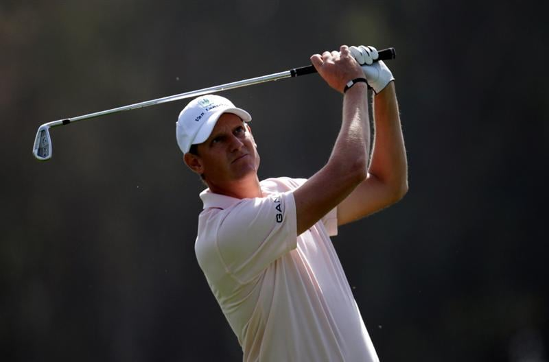 MALAGA, SPAIN - MARCH 24:  Maarten Lafeber of the Netherlands during the first round of the Open de Andalucia at the Parador de Malaga Golf Course on March 24, 2011 in Malaga, Spain.  (Photo by Ross Kinnaird/Getty Images)