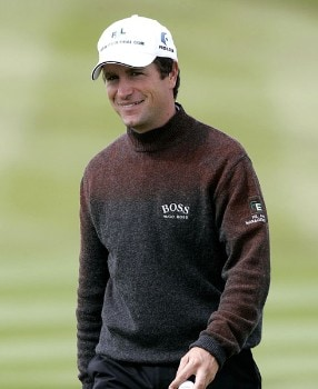 Steve Webster on the 8th hole during the second round of the Johnnie Walker Championship on August 5, 2005 at Monarchs Course.Photo by Thomas Main/WireImage.com