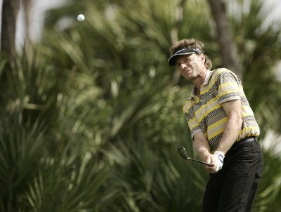 Bernhard Langer during the first round of the Honda Classic on the Champion Course at PGA National in Palm Beach Gardens, Florida on Thursday, March 1, 2007. PGA TOUR - The 2007 Honda Classic - First RoundPhoto by Sam Greenwood/WireImage.com