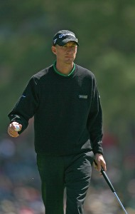 Vaughn Taylor during the final round of the 2007 Masters at the Augusta National Golf Club in Augusta,  Georgia, on April 8, 2007. The 2007 Masters - Final RoundPhoto by Mike Ehrmann/WireImage.com