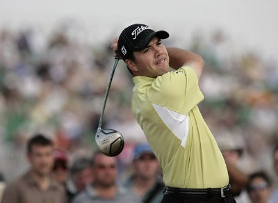 Arron Oberholser during the second round of the 135th Open Championship at Royal Liverpool Golf Club in Hoylake, Great Britain on July 21, 2006.Photo by Pete Fontaine/WireImage.com