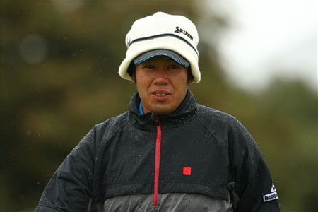 SOUTHPORT, UNITED KINGDOM - JULY 17:  Shintaro Kai of Japan looks on during the First Round of the 137th Open Championship on July 17, 2008 at Royal Birkdale Golf Club, Southport, England.  (Photo by Richard Heathcote/Getty Images)