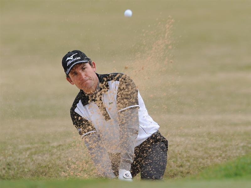 RAGUSA, ITALY - MARCH 20:  Ignacio Garrido of Spain plays his bunker shot on the fifth hole during the final round of the Sicilian Open at the Donnafugata golf resort and spa on March 20, 2011 in Ragusa, Italy.  (Photo by Stuart Franklin/Getty Images)