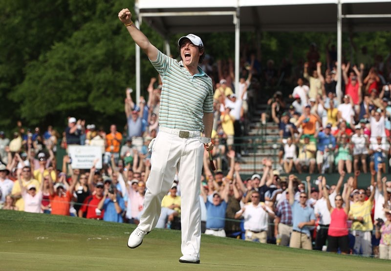 Rory McIlroy at the 2010 Quail Hollow Championship