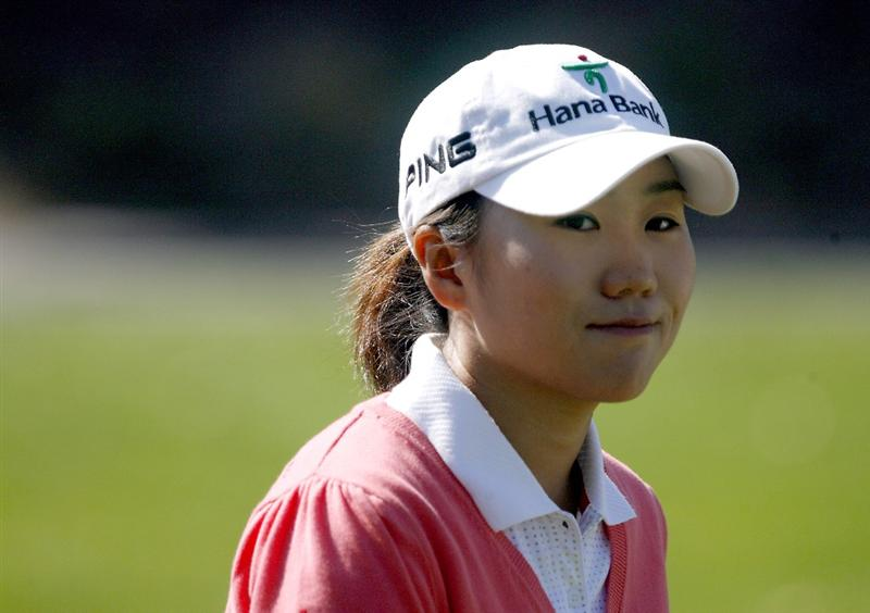 DANVILLE, CA - OCTOBER 11:  In-Kyung Kim of South Korea walks down the 9th hole during the third round of the LPGA Longs Drugs Challenge at the Blackhawk Country Club October 11, 2008 in Danville, California. (Photo by Max Morse/Getty Images)