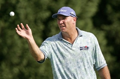 Duffy Waldorf during the second round of the Booz Allen Classic at TPC Avenel in Potomac, Maryland, on June 23, 2006.Photo by Hunter Martin/WireImage.com
