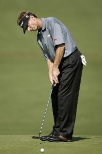 Brad Faxon during the first round of the Chrysler Classic of Greensboro at Forest Oaks Country Club in Greensboro, North Carolina on October 5, 2006. PGA TOUR - 2006 Chrysler Classic of Greensboro - First RoundPhoto by Michael Cohen/WireImage.com
