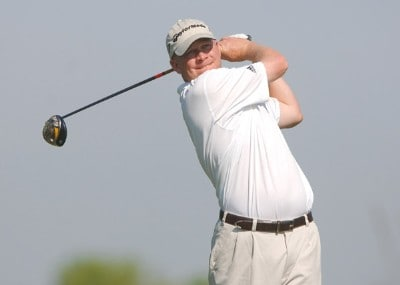 Jason Dufner in action during the first round of the Nationwide Tour 2006 LaSalle Bank Open at the The Glen Club in Glenview, Illinois on June 8, 2006.Photo by Steve Grayson/WireImage.com