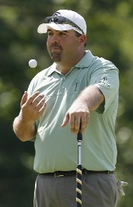 Kevin Stadler wins the fourth and final round of the Nationwide  2006 Xerox Classic at the Irondequoit Country Club in Rochester, New York, Sunday, August 13, 2006Photo by Jim Rogash/WireImage.com