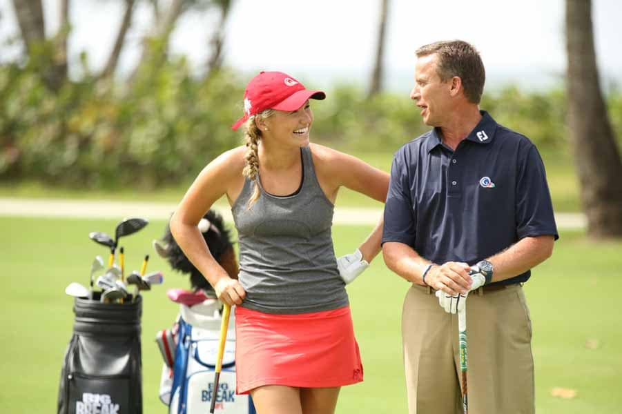 Emily Talley and Michael Breed