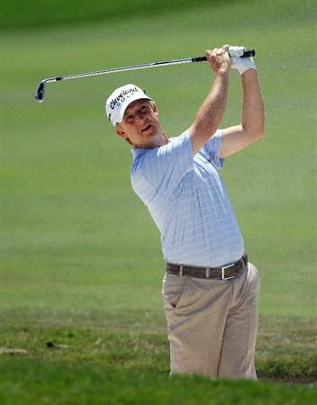 ORLANDO, FL - MARCH 27:  David Toms of the USA plays his second shot on the 1st hole during the final round of the 2011 Arnold Palmer Invitational presented by Mastercard at the Bay Hill Lodge and Country Club on March 27, 2011 in Orlando, Florida.  (Photo by David Cannon/Getty Images)