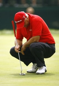 Stephen Dodd during the second round of the 88th PGA Championship at Medinah Country Club in Medinah, Illinois, on August 18, 2006.Photo by Mike Ehrmann/WireImage.com