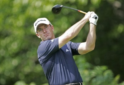 Peter Lonard during the second round of the Buick Championship held at TPC River Highlands in Cromwell, Connecticut, on June 30, 2006.Photo by: Chris Condon/PGA TOUR