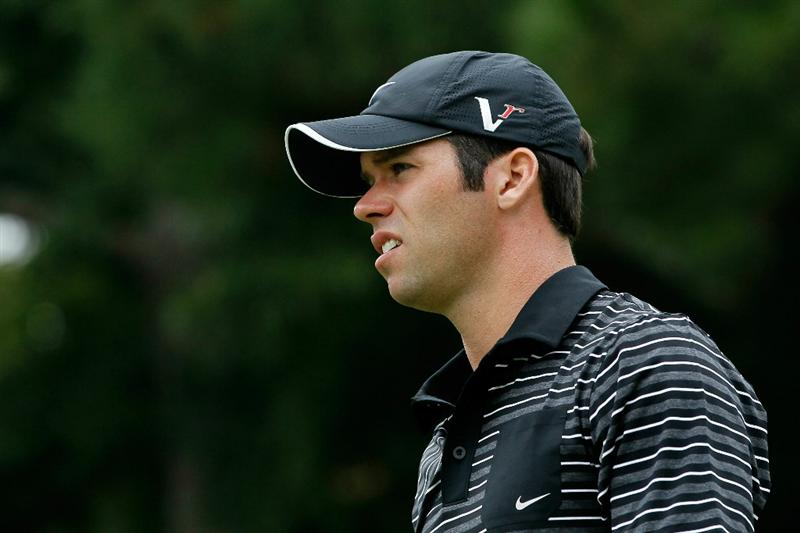 ATLANTA - SEPTEMBER 26:  Paul Casey of England walks off the fifth tee during the final round of THE TOUR Championship presented by Coca-Cola at East Lake Golf Club on September 26, 2010 in Atlanta, Georgia.  (Photo by Kevin C. Cox/Getty Images)