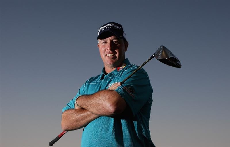 DOHA, QATAR - JANUARY 21:  Boo Weekley of the USA poses for a photograph prior to taking part in the Pro Am for the Commercial Bank Qatar Masters at Doha Golf Club on January 21, 2009 in Doha, Qatar.  (Photo by Andrew Redington/Getty Images)