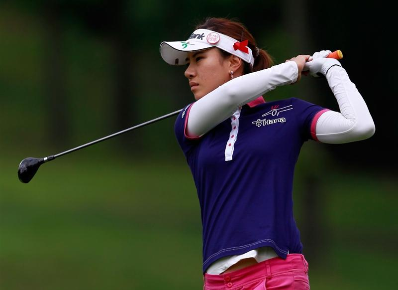 GLADSTONE, NJ - MAY 19:  Hee Young Park of South Korea on the third hole during round one of the Sybase Match Play Championship at Hamilton Farm Golf Club on May 19, 2011 in Gladstone, New Jersey.  (Photo by Chris Trotman/Getty Images)