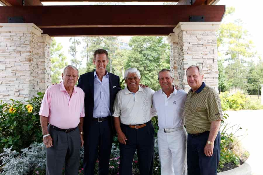 Legendary Conversation: Jack Nicklaus, Arnold Palmer, Gary Player, Lee Trevino, and host Rich Lerner