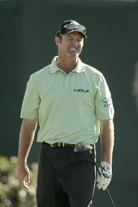 Jerry Kelly reacts to a bad tee shot on the 18th hole during the third round of the 2007 Arnold Palmer Invitational at the Bay Hill Club and Lodge in Orlando, Florida on March 17, 2007. PGA TOUR - 2007 Arnold Palmer Invitational - Third RoundPhoto by Pete Fontaine/WireImage.com