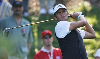 Jesper Parnevik during the first round of the Canadian Open held at Hamilton Golf and Country Club in Ancaster, Ontario, Canada, on September 7, 2006.Photo by: Stan Badz/PGA TOUR