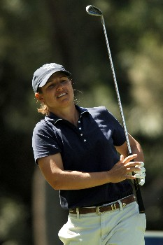 Heather Bowie in action during the final round of the 2005 LPGA Takefuji Classic at the Las Vegas Country Club in Las Vegas, Nevada, April 16, 2005.Photo by Steve Grayson/WireImage.com