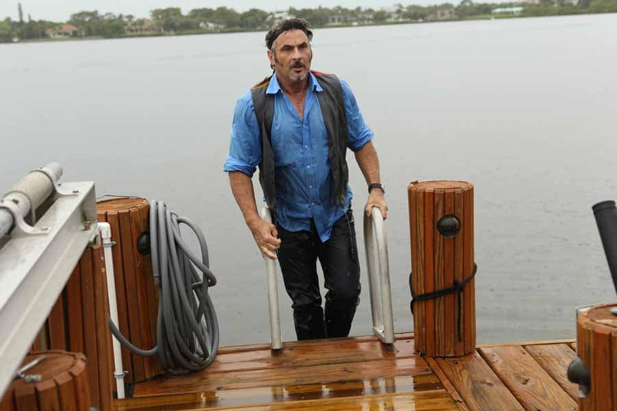 Feherty Getting Out of the Water