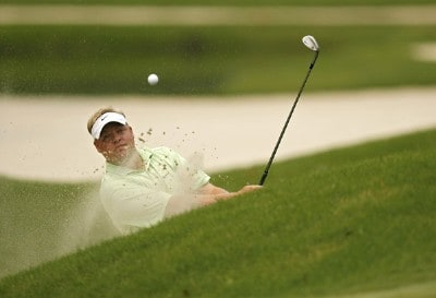Carl Pettersson during the final round of THE PLAYERS Championship held on THE PLAYERS Stadium Course at TPC Sawgrass in Ponte Vedra Beach, Florida, on May 13, 2007. PGA TOUR - 2007 THE PLAYERS Championship - Final RoundPhoto by Hunter Martin/WireImage.com