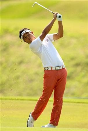 PONTE VEDRA BEACH, FL - MAY 08:  Ryuji Imada of Japan hits his fairway shot on the seventh hole during the third round of THE PLAYERS Championship held at THE PLAYERS Stadium course at TPC Sawgrass on May 8, 2010 in Ponte Vedra Beach, Florida.  (Photo by Scott Halleran/Getty Images)