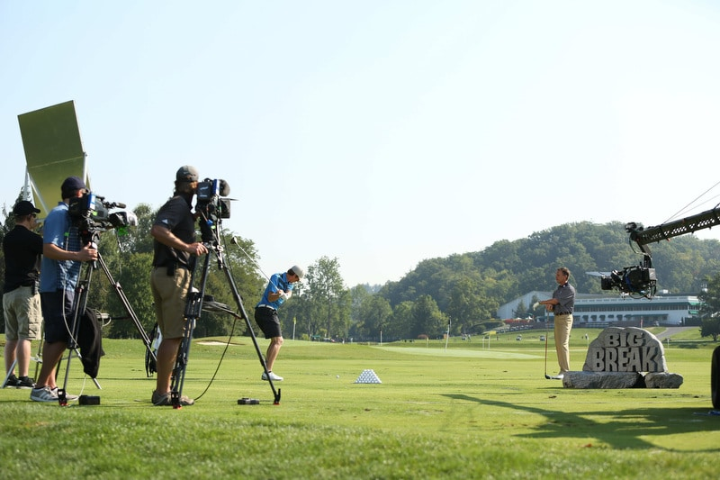 Big Break Academy Greenbrier, Michael Breed and Derek Bohlen