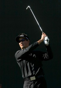 Dean Wilson hits his tee shot on the 16th hole during the first round of the FBR Open on January 31, 2008 at TPC of Scottsdale in Scottdsdale, Arizona. PGA TOUR - 2008 FBR Open - Round OnePhoto by Stephen Dunn/Getty Images