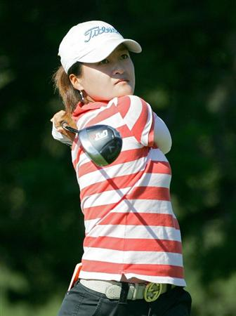 GALLOWAY, NJ - JUNE 18:  Misun Cho of South Korea plays a shot  during the first round of the ShopRite LPGA Classic held at Dolce Seaview Resort (Bay Course) on June 18, 2010 in Galloway, New Jersey.  (Photo by Michael Cohen/Getty Images)