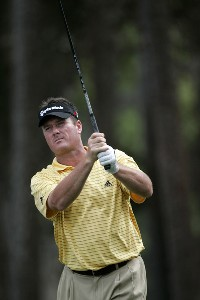 Todd Hamilton during a practice round for The Players Championship held at the TPC Stadium Course in Ponte Vedra Beach, Florida on Monday, March 20, 2006Photo by Sam Greenwood/WireImage.com