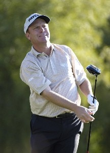 Jeff Sluman in action during the first round of the FBR Open at the TPC Players Course on Thursday, February 2, 2006 in Scottsdale, Arizona.Photo by Marc Feldman/WireImage.com