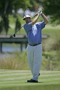 Brad Bryant during the second round of the Boeing Championship at Sandestin at Raven Golf Club in Destin, Florida on May 13, 2006.Photo by Michael Cohen/WireImage.com