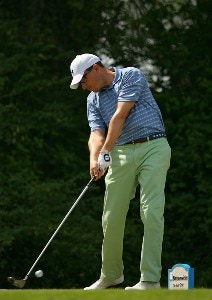 Jason Caron on the 15th hole during the second round of the Nationwide Tour Event Chitimacha Louisiana Open at Le Triomphe Country Club in Broussard, LA on March 23, 2007. Nationwide Tour - 2007 Chitimacha Louisiana Open - Second RoundPhoto by Mike Ehrmann/WireImage.com