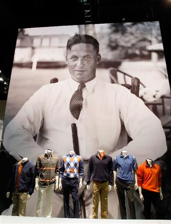 ORLANDO, FL - JANUARY 30:  Apparel on display at the Bobby Jones booth at the 2010 PGA Merchandise Show at the Orange County Convention Center on January 30, 2010 in Orlando, Florida.  (Photo by Scott Halleran/Getty Images)