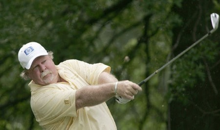 Craig Stadler during second round of the 2005 Commerce Bank Championship at Eisenhower Park in East Meadow, New York on July 2, 2005.Photo by Michael Cohen/WireImage.com